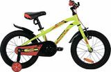 """Детский велосипед Novatrack Prime 16"""" от 4 до 6 лет зеленый"""
