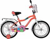 """Детский велосипед Novatrack Candy 20"""" от 6 до 10 лет красный"""