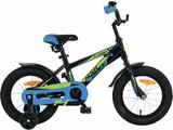 """Детский велосипед Novatrack Lumen 14"""" от 3 до 5 лет черный"""