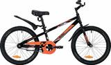 Детский велосипед Novatrack Juster 20'' от 6 до 10 лет черный