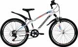 """Подростковый горный велосипед Novatrack Extreme 24"""" белый"""