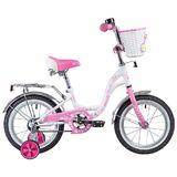 """Детский велосипед Novatrack Butterfly 14"""" розовый"""