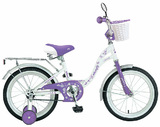 """Детский велосипед Novatrack Butterfly 14"""" фиолетовый"""