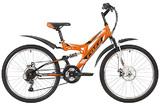 """Подростковый горный велосипед Foxx Freelander 24"""" оранжевый"""