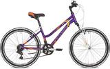 """Подростковый горный велосипед Stinger модель Laguna 24"""" фиолетовый"""