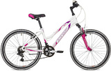 """Подростковый горный велосипед Stinger модель Laguna 24"""" белый"""