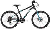 """Подростковый велосипед Stinger Element D 24"""" черный"""