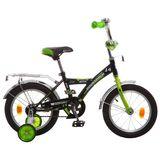 """Детский велосипед Novatrack Astra 14"""" от 3 до 5 лет черный"""
