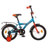 """Детский велосипед Novatrack Astra 14"""" от 3 до 5 лет синий"""