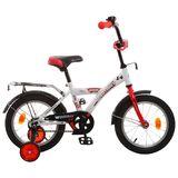 """Детский велосипед Novatrack Astra 14"""" от 3 до 5 лет белый"""