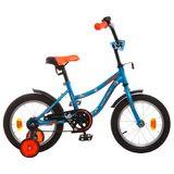 """Детский велосипед Novatrack Neptun 14"""" от 3 до 5 лет синий"""