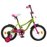 """Детский велосипед Novatrack Neptun 14"""" от 3 до 5 лет салатовый"""