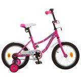 """Детский велосипед Novatrack Neptun 14"""" от 3 до 5 лет розовый"""