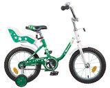 """Детский велосипед Novatrack Maple  14"""" от 3 до 5 лет зеленый"""