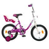 """Детский велосипед Novatrack Maple  14"""" от 3 до 5 лет фиолетовый"""