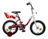 """Детский велосипед Novatrack Maple  14"""" от 3 до 5 лет красный"""