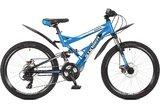 """Подростковый велосипед Stinger Versus D 24"""" синий"""