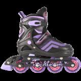 Раздвижные роликовые коньки Foxter 2019 фиолетовые