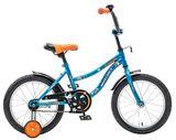 """Детский велосипед Novatrack Neptun 12"""" от 2 до 4 лет синий"""