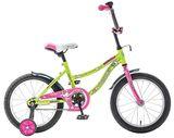"""Детский велосипед Novatrack Neptun 12"""" от 2 до 4 лет салатовый"""