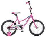 """Детский велосипед Novatrack Neptun 12"""" от 2 до 4 лет розовый"""