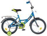 """Детский велосипед Novatrack Urban 14"""" от 3 до 5 лет синий"""