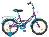 """Детский велосипед Novatrack Urban 16"""" от 4 до 6 лет голубой"""