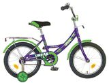 """Детский велосипед Novatrack Urban 14"""" от 3 до 5 лет зеленый"""