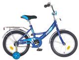 """Детский велосипед Novatrack Vector 12"""" от 2 до 4 лет синий"""