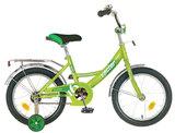 """Детский велосипед Novatrack Vector 12"""" от 2 до 4 лет зеленый"""