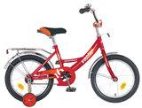 """Детский велосипед Novatrack Vector 12"""" от 2 до 4 лет красный"""