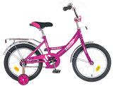 """Детский велосипед Novatrack Vector 12"""" от 2 до 4 лет фиолетовый"""