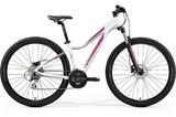 Женский горный велосипед Merida Juliet 7.20-D (2019) бело-розовый
