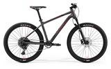 Велосипед Merida Big.Seven 600 (2019) черно-красный