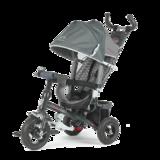 Детский трехколесный велосипед Tech Team 952S-AT с надувными колесами серый