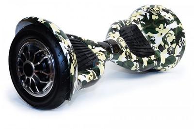 Гироскутер Smart Balance SUV 10 Хаки (мини-сигвей Смарт Баланс), с надувными колесами.