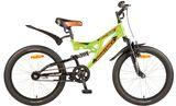 Детский горный велосипед Novatrack Shark 20'' 1 ск.  зеленый