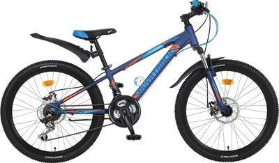 """Подростковый велосипед Novatrack Lumen 24"""" 2D"""