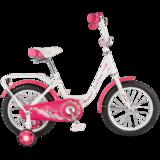 """Детский велосипед Tech Team 131 12"""" от 2 до 4 лет розовый"""