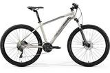 Велосипед Merida Big.Seven 80-D (2019) серебристый