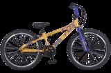 Трюковой велосипед Tech Team Fox BMX с колесами 24 дюймов желтый
