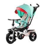 Трехколесный велосипед Fisher-Price с поворотным сиденьем с родительской ручкой бирюзовый