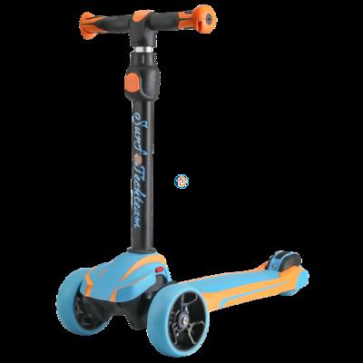 Детский трехколесный самокат  Surf Boy 2019 синий