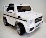 Электромобиль RiverToys Mercedes-Benz G-65 Белый