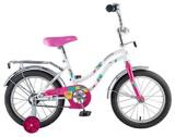 """Детский велосипед Novatrack Tetris 14"""" от 3 до 5 лет белый"""