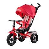 Трехколесный велосипед Fisher-Price с поворотным сиденьем с родительской ручкой красный