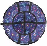 Ватрушка-Тюбинг 90 см Звезды синий