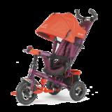 Детский трехколесный велосипед Tech Team 952S-AT с надувными колесами красный