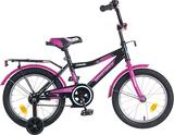 """Детский велосипед NOVATRACK Cosmic 16"""" от 4 до 6 лет фиолетовый"""