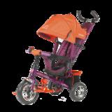 Детский трехколесный велосипед Tech Team 952S с колесами ПВХ красный